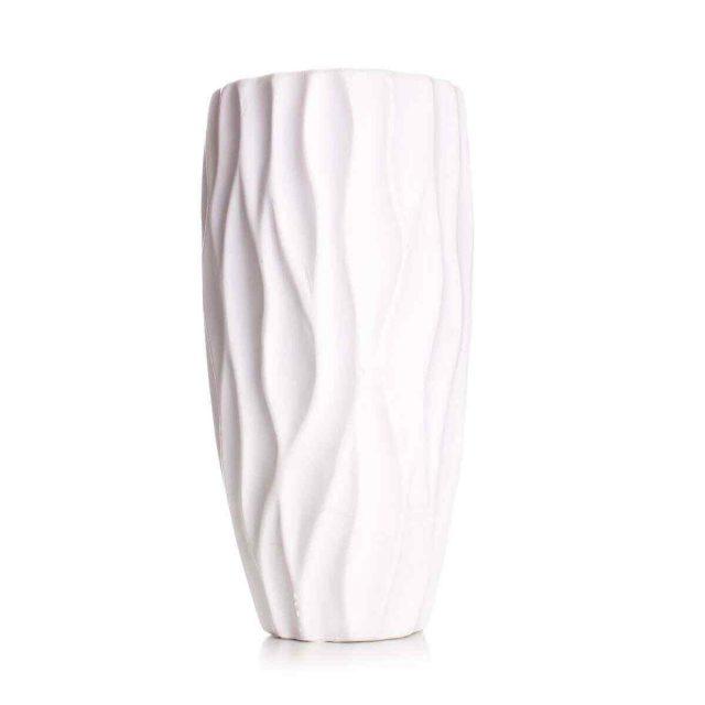 White decorative vase