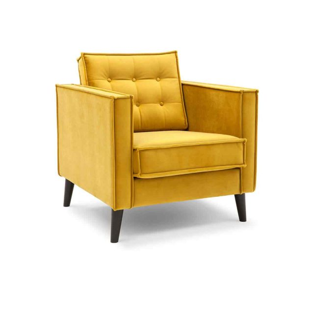 Yellow comfy chair